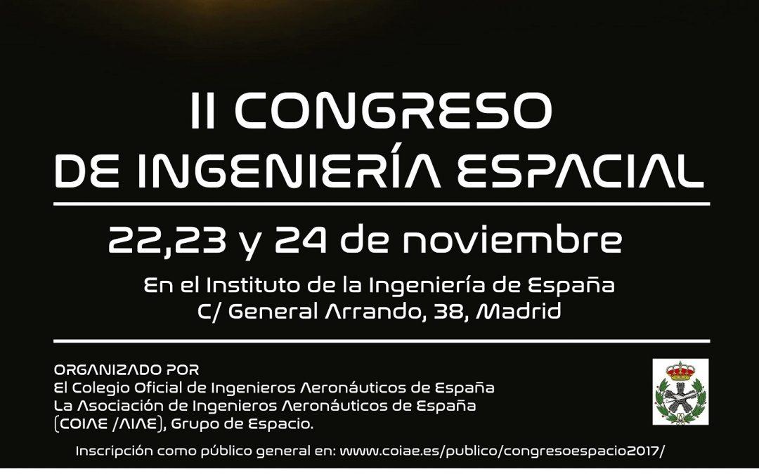 II Congreso Ingeniería Espacial