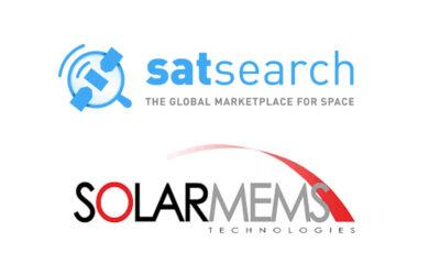 Solar MEMS, new member of SatSearch