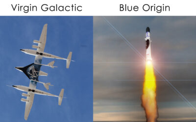 The differences between the flights of Blue Origin and Virgin Galactic
